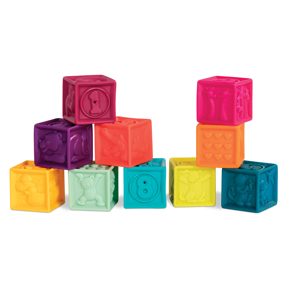B.Baby - Blocs souples One Two Squeeze