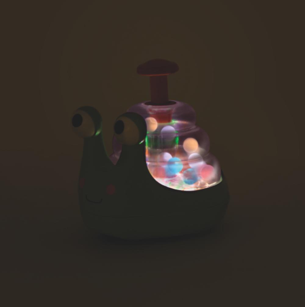 B.Baby - Toupie lumineuse Escar-Glooow