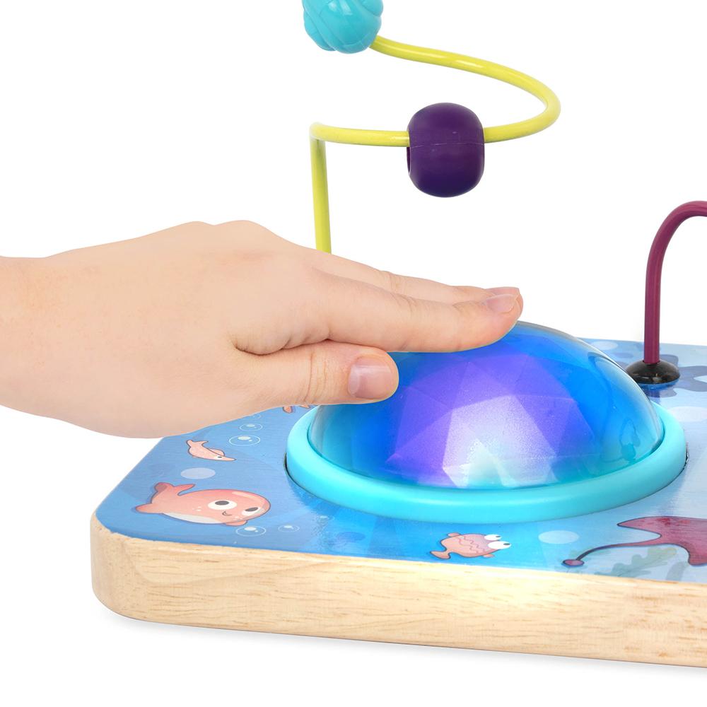 B. Woody - Cube d'activités lumineux A-Mazing Seas