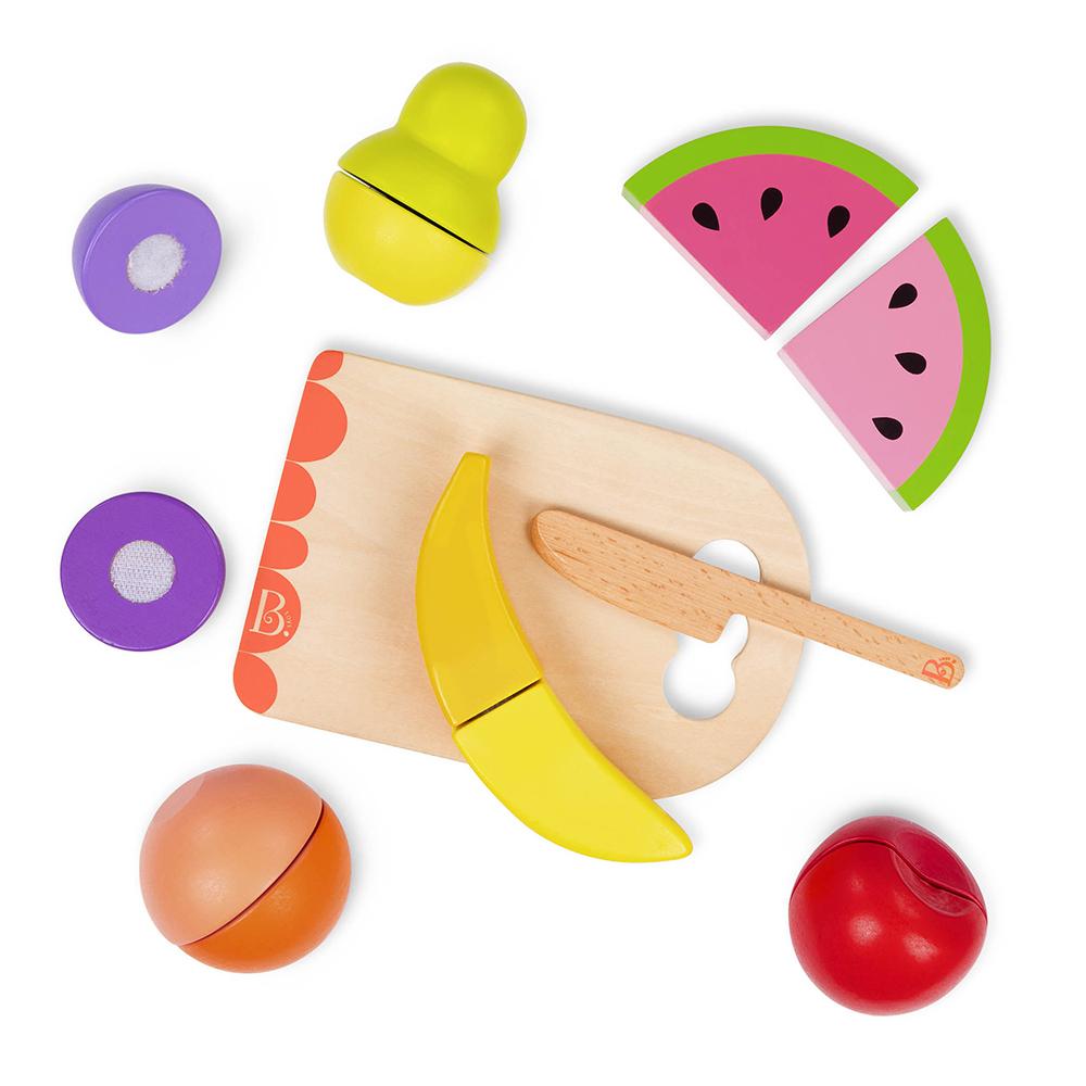B.Woody - Ensemble de fruits à couper Chop 'N' Play