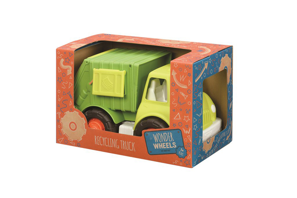 Wonder Wheels - Camion de recyclage