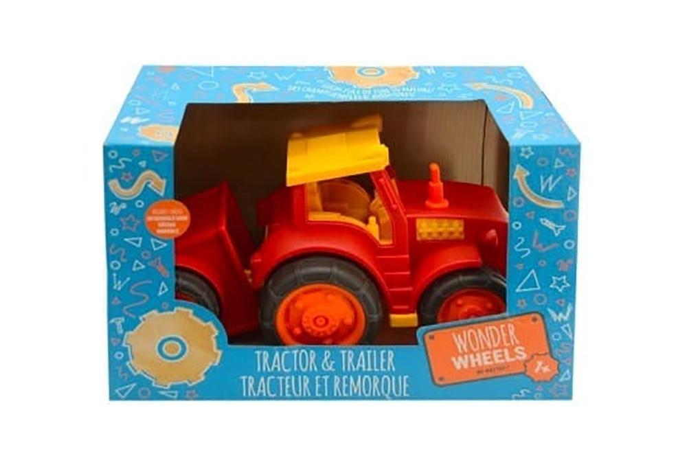 Wonder Wheels - Tracteur et remorque