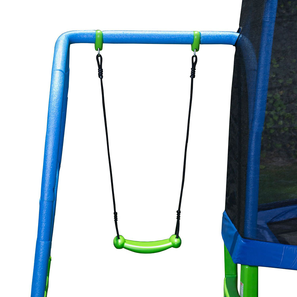 Mon 1er trampoline combo balançoire