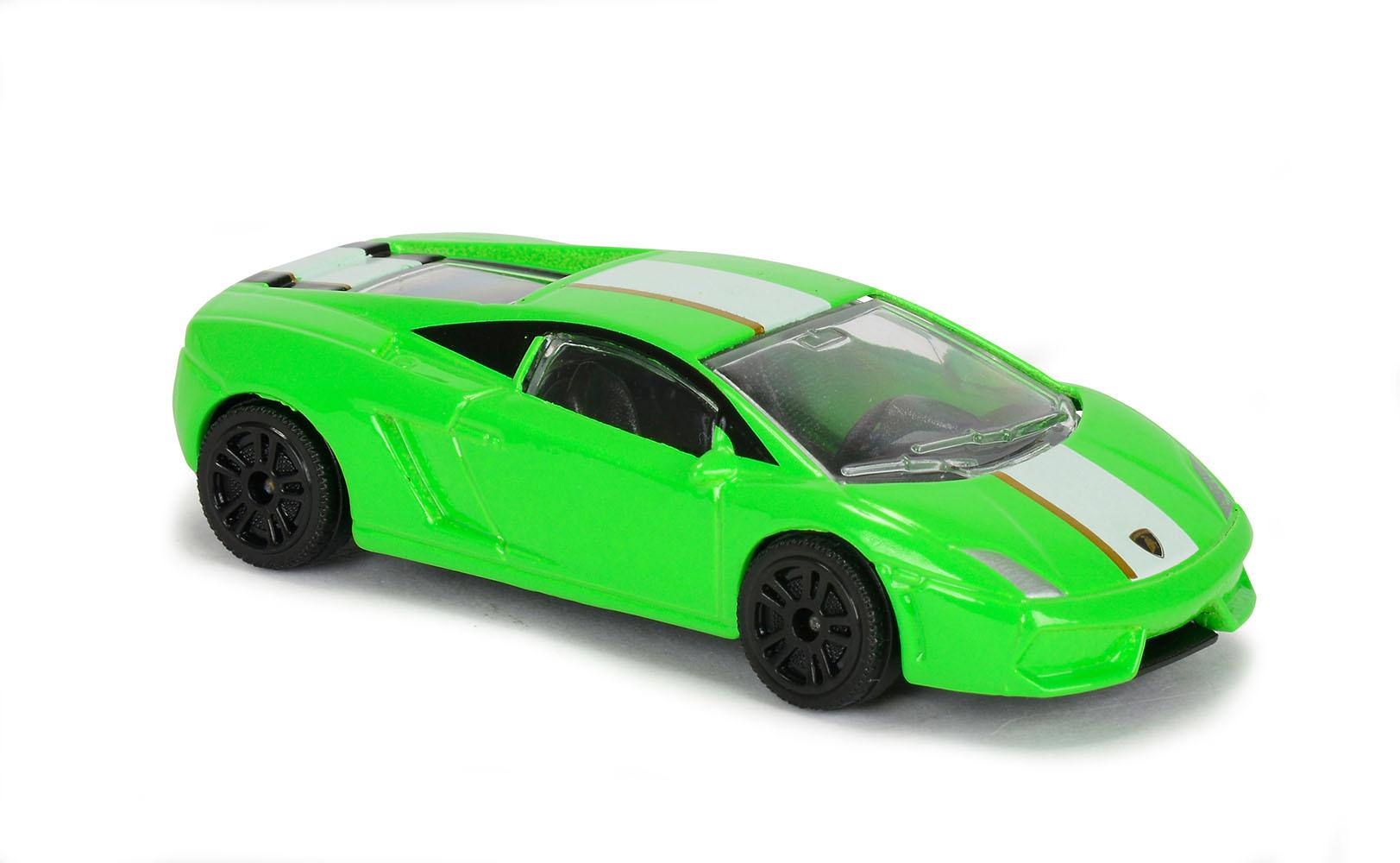Majorette - Creatix Ensemble de course Lamborghini