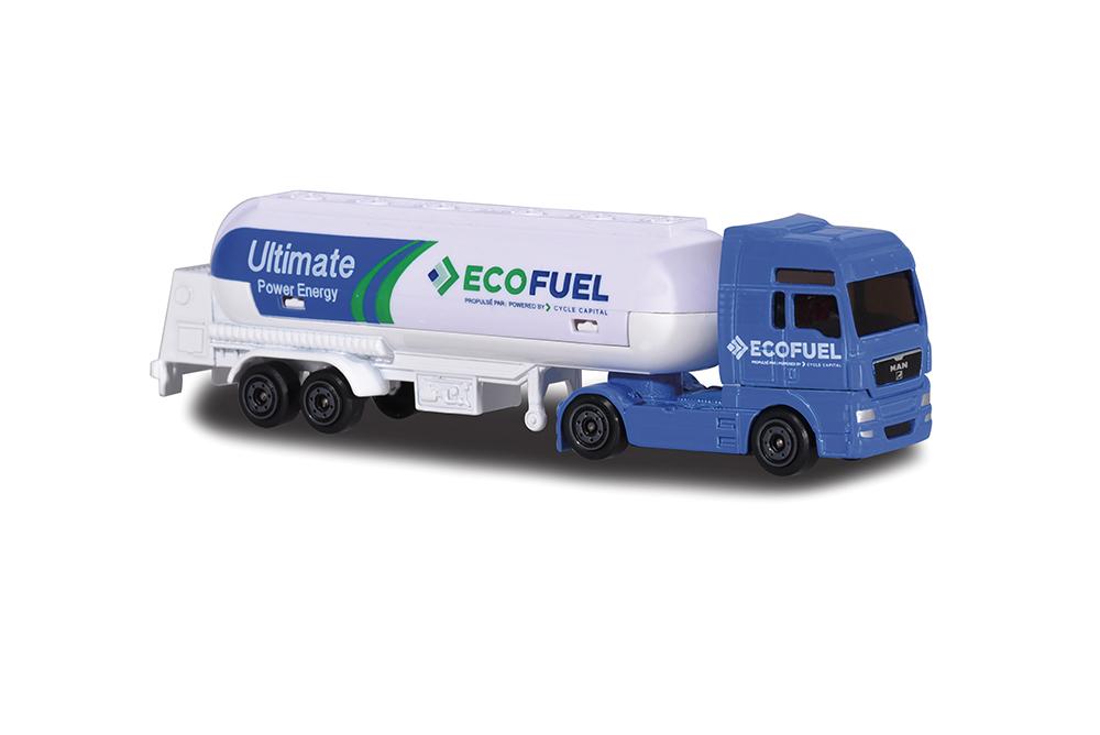 Majorette - Camion remorque assortis