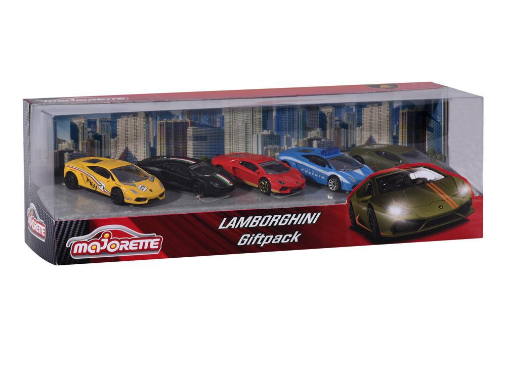 Majorette Ensemble 5 voitures Lamborghini