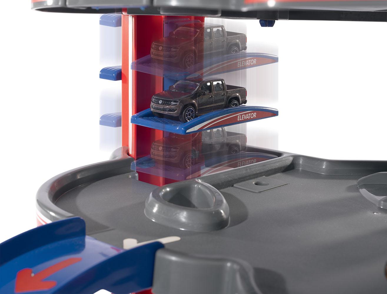 Majorette Garage 'Urban' avec 1 auto