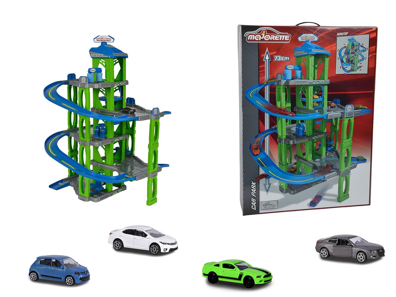 Majorette - Garage 5 niveaux avec auto
