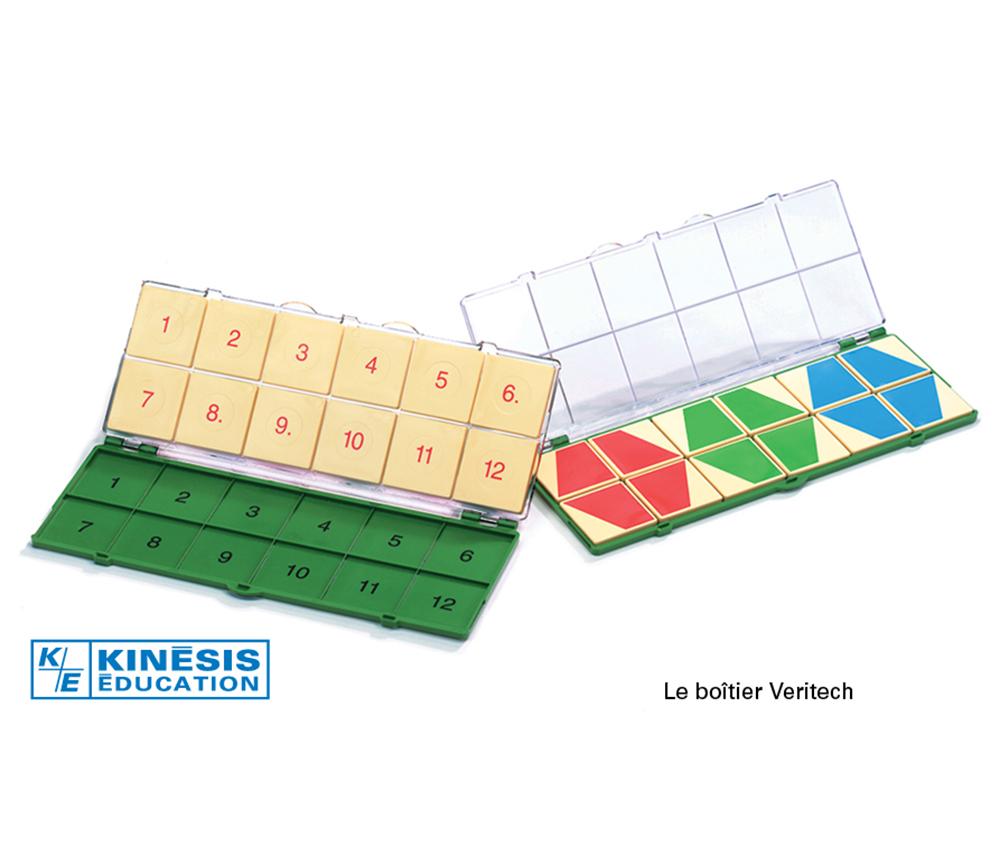 Veritech - Boîtier Veritech et 12 jetons