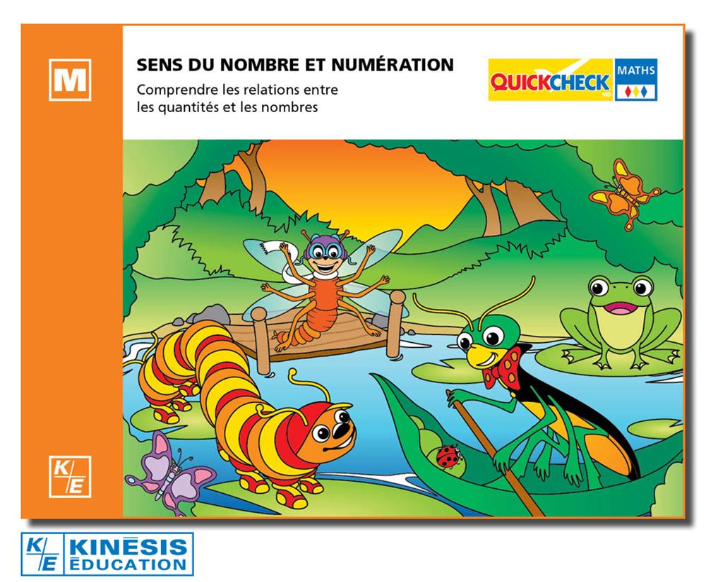 QuickCheck - Maternelle-Sens du nombre et Numération Version française