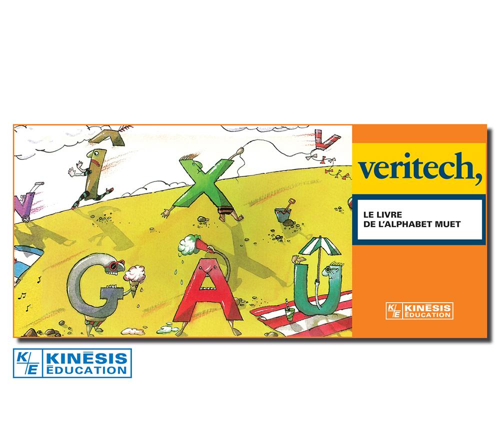 Veritech - Le livre de l'alphabet muet Version française