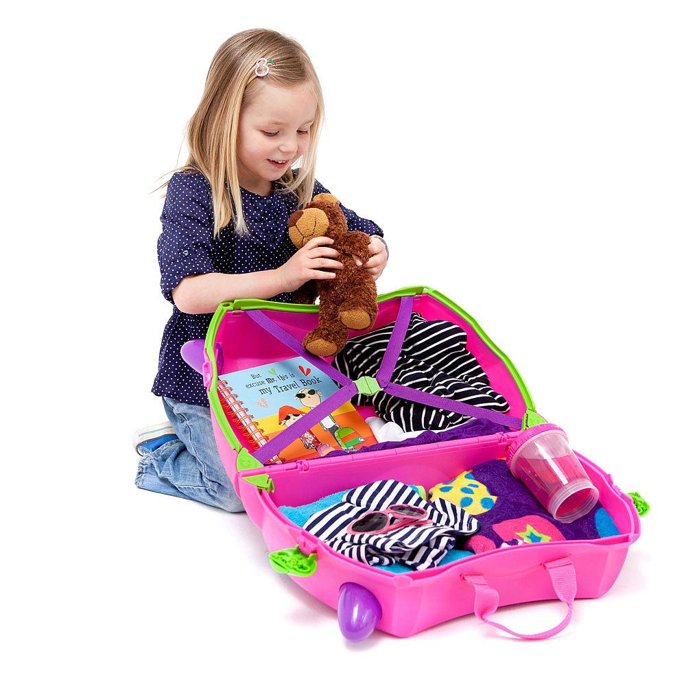 Trunki - Valise pour enfant Trixie rose