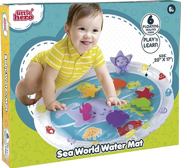 Little Hero - Tapis d'eau océan