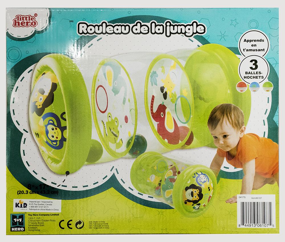 Little Hero - Rouleau gonflable de la jungle