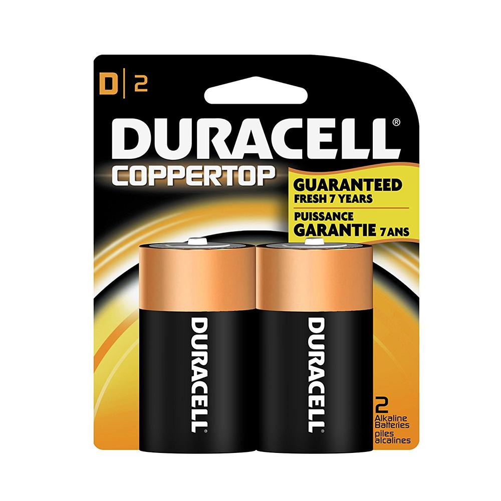 Piles Duracell D