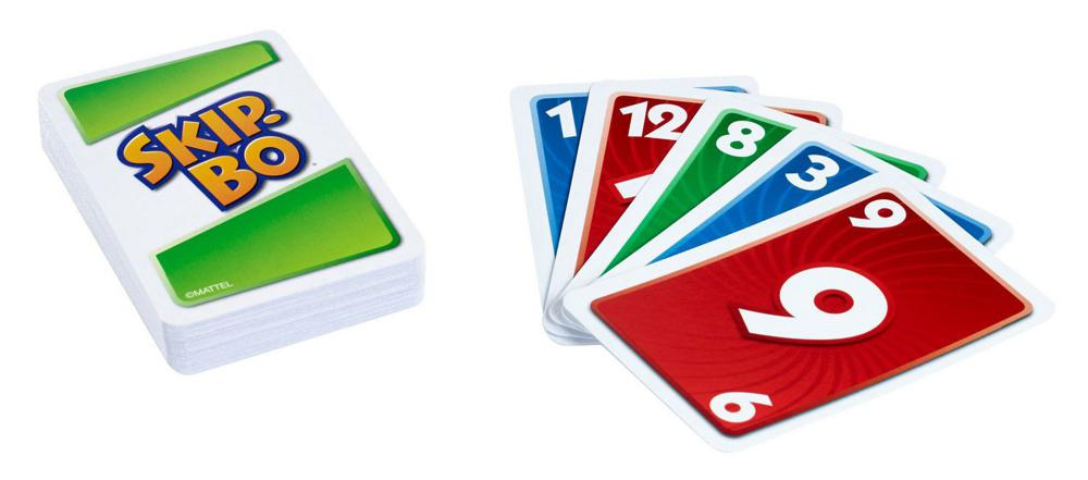 Skip-Bo - Jeu de cartes