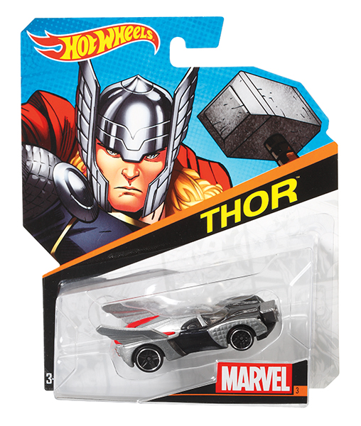 Hot Wheels - Autos Marvel modèles assortis