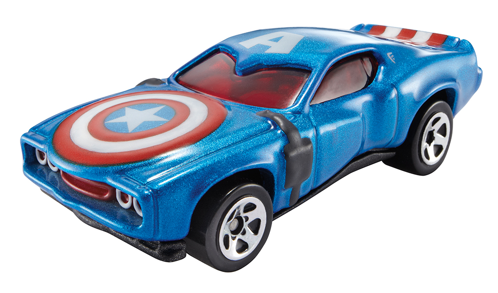 Hot Wheels - Autos Marvel modèles assortis