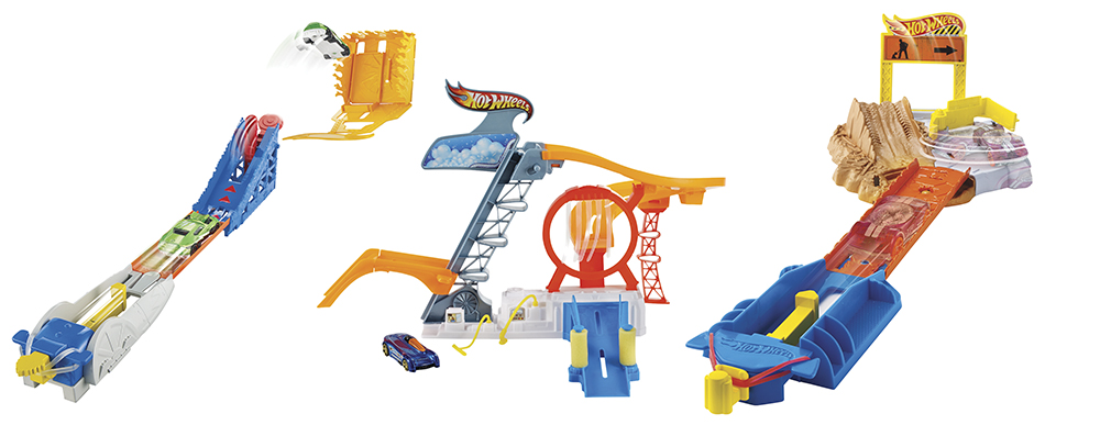 Hot Wheels On-The-Go Trackset Assorti