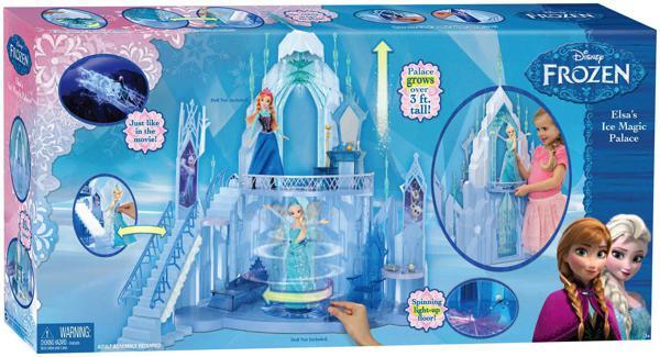 Reine des neiges palais de glace poup es for Chateau de glace reine des neiges