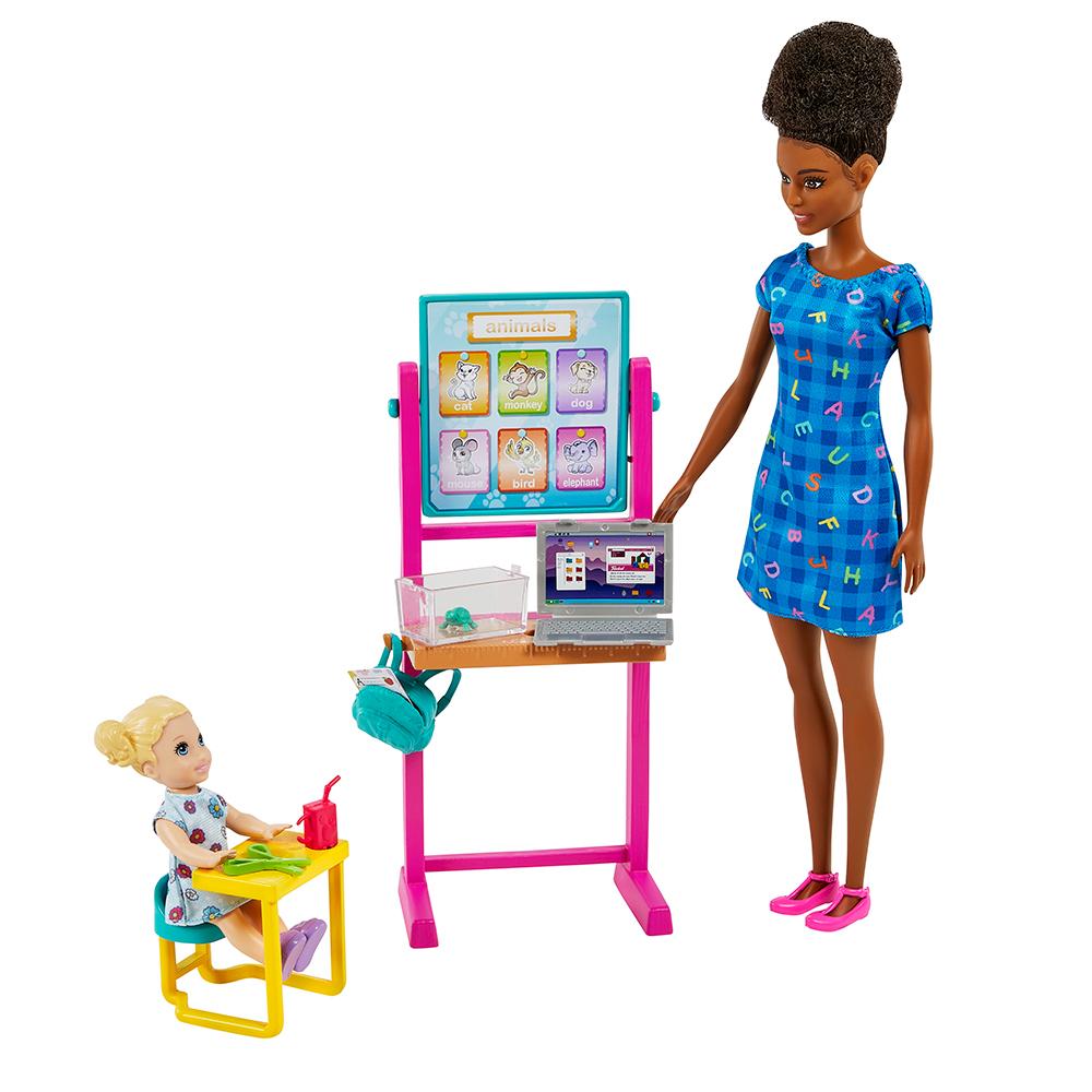 Barbie - Coffret de jeu carrière assortis