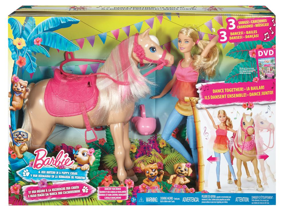 Barbie et son cheval de danse poup es - Barbie et son cheval ...