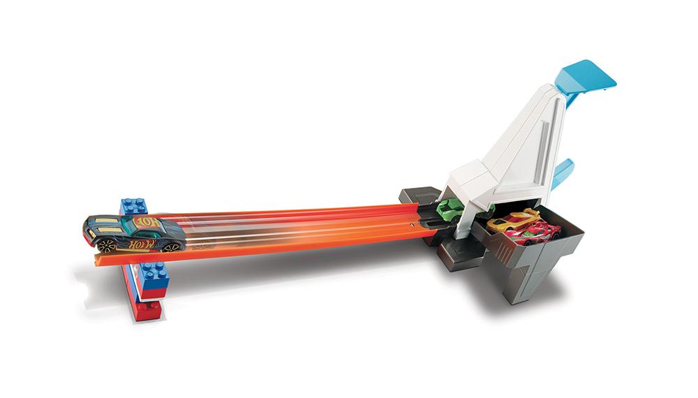 Hot Wheels Track Builder Accessoire d'accélération assortis