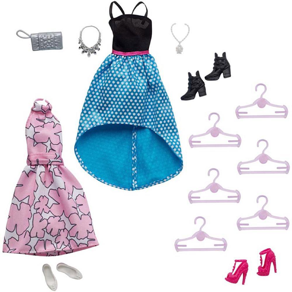 Barbie Garde-robe ultime 2 couleurs assorties