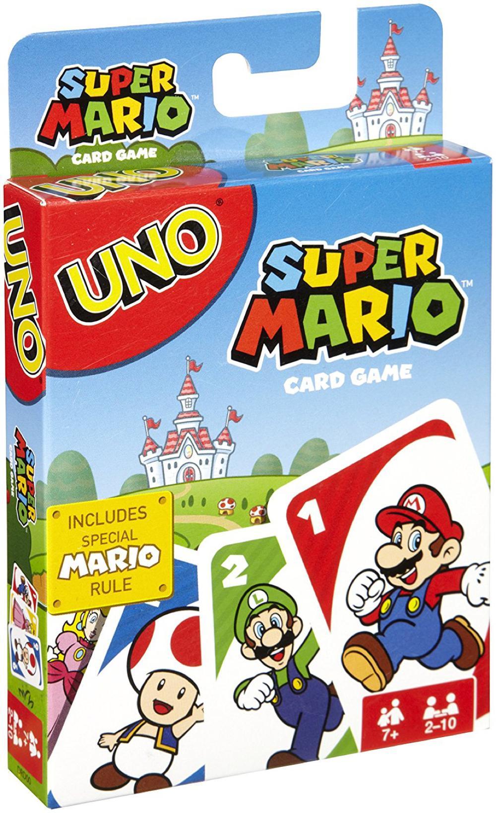 Jeu Uno - Mario Bros