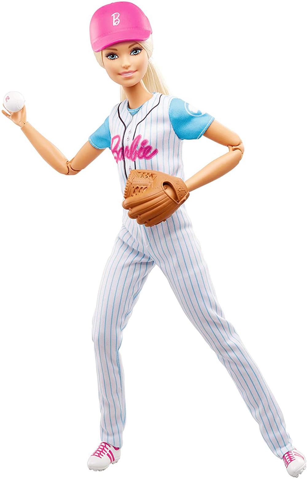 Barbie - Poupée sportive assorties