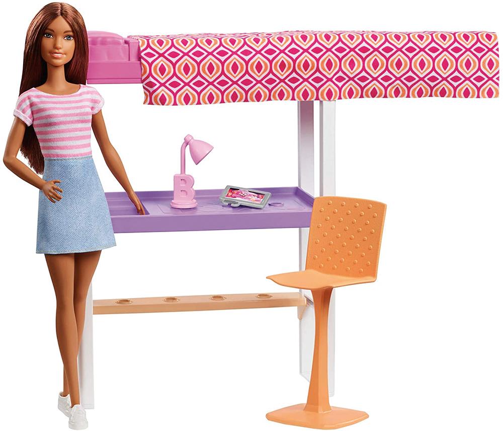 Barbie - Ensemble poupée et mobilier assortis