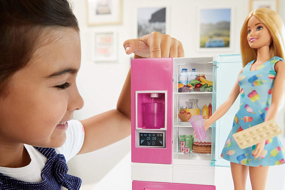Barbie - Ensemble poupée et mobilier assortis