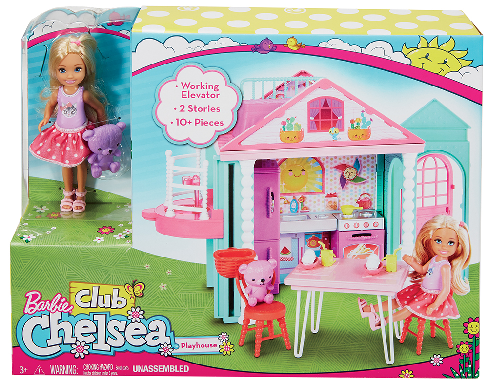 Barbie Club Chelsea - La Villa de Chelsea