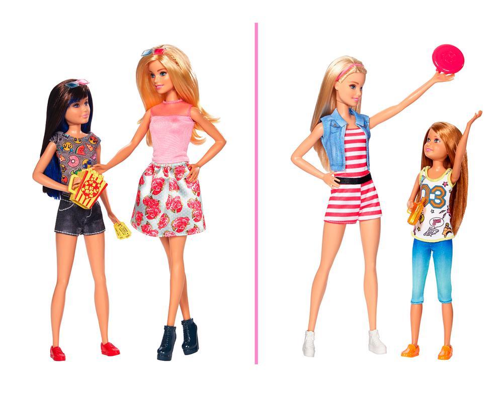 Barbie - Poupées soeurs assortis