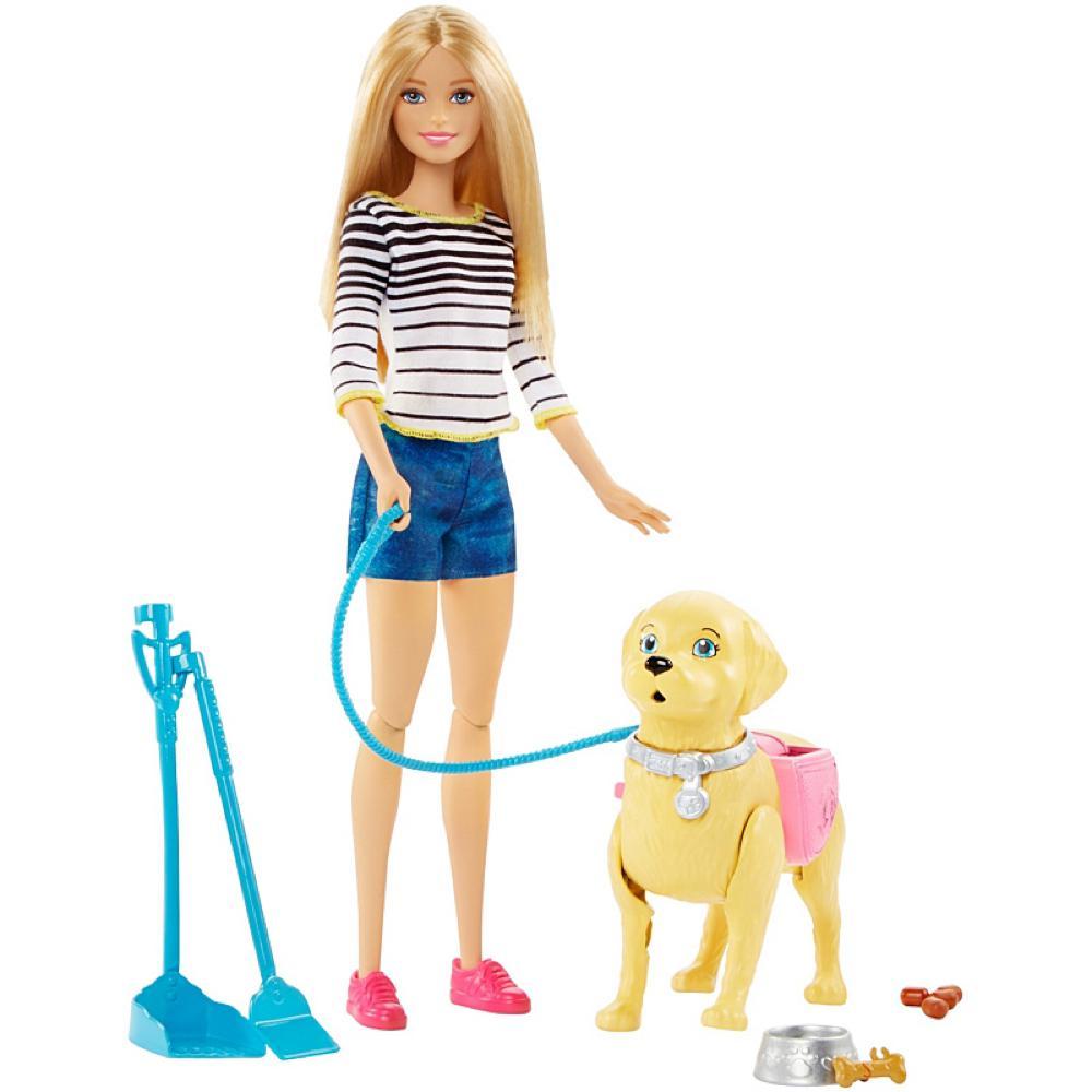 Barbie - Promenade du chiot