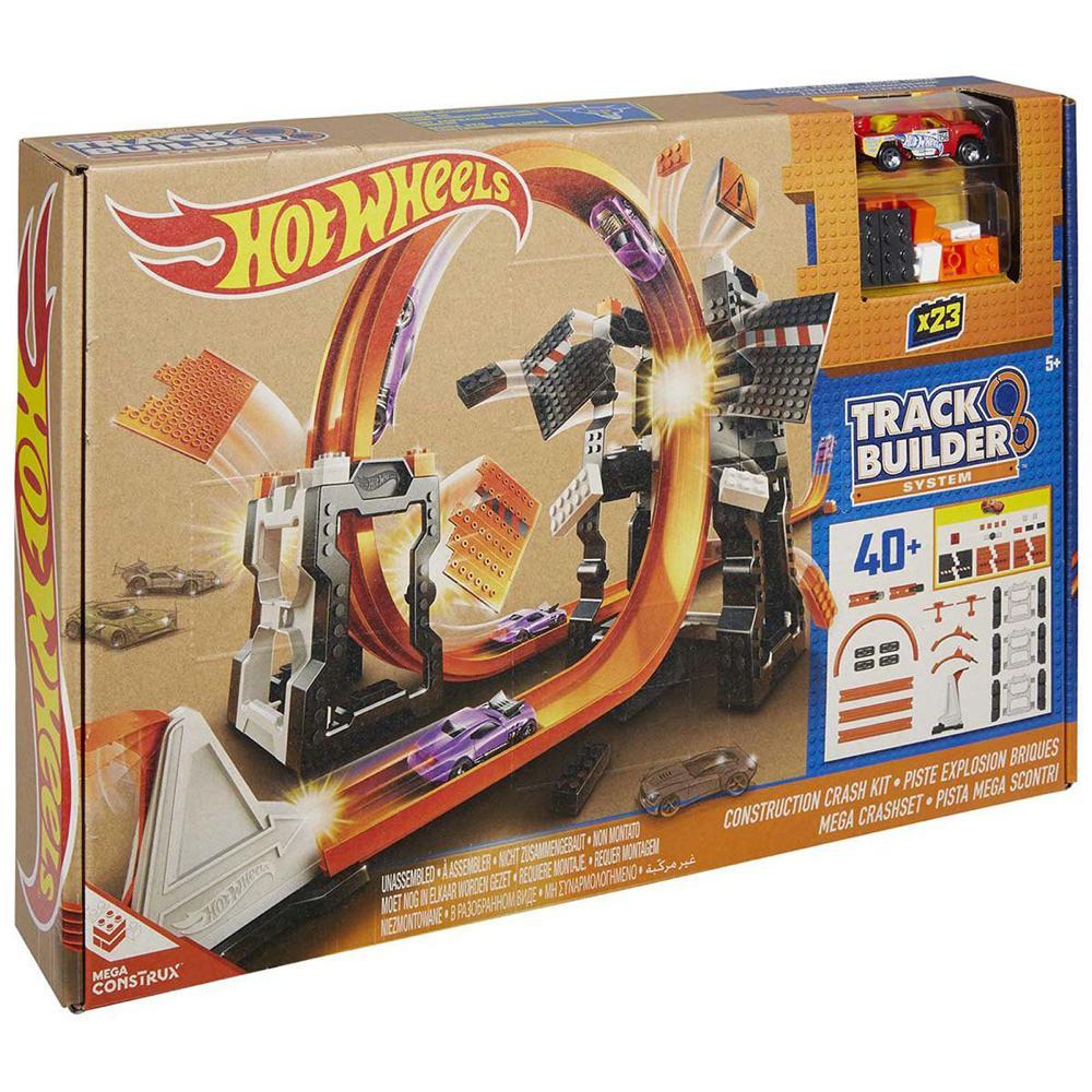 hot wheels piste track builder d molition club jouet achat de jeux et jouets prix club. Black Bedroom Furniture Sets. Home Design Ideas