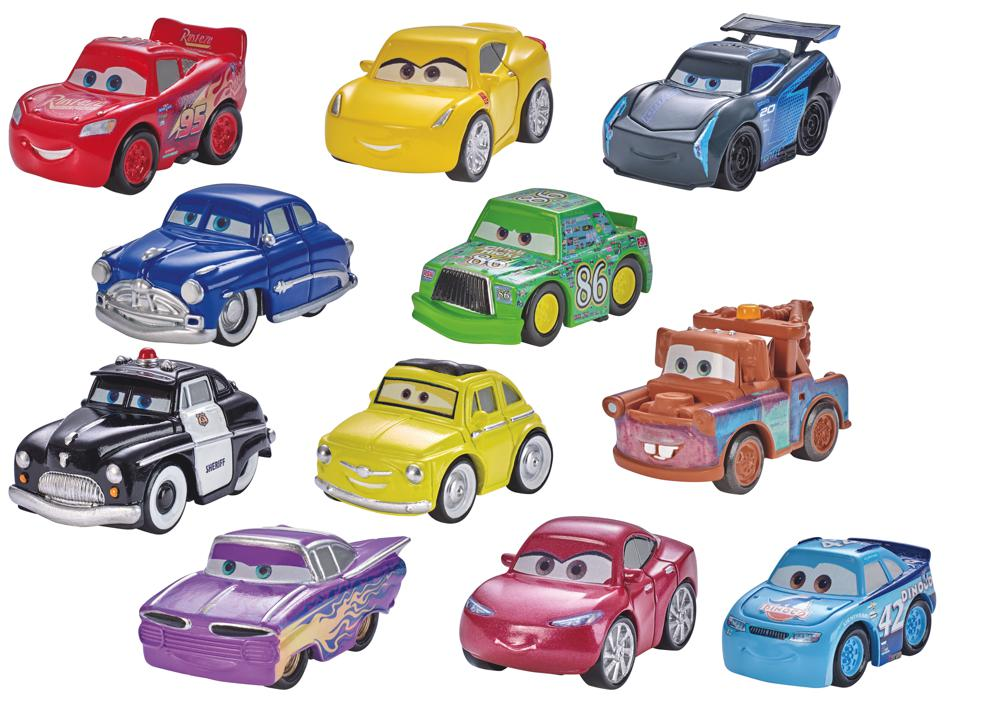cars 3 mini voitures en m tal mod les assortis v hicules. Black Bedroom Furniture Sets. Home Design Ideas