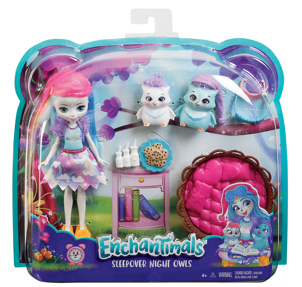 Enchantimals Poupée & animal Coffret thématique assortis