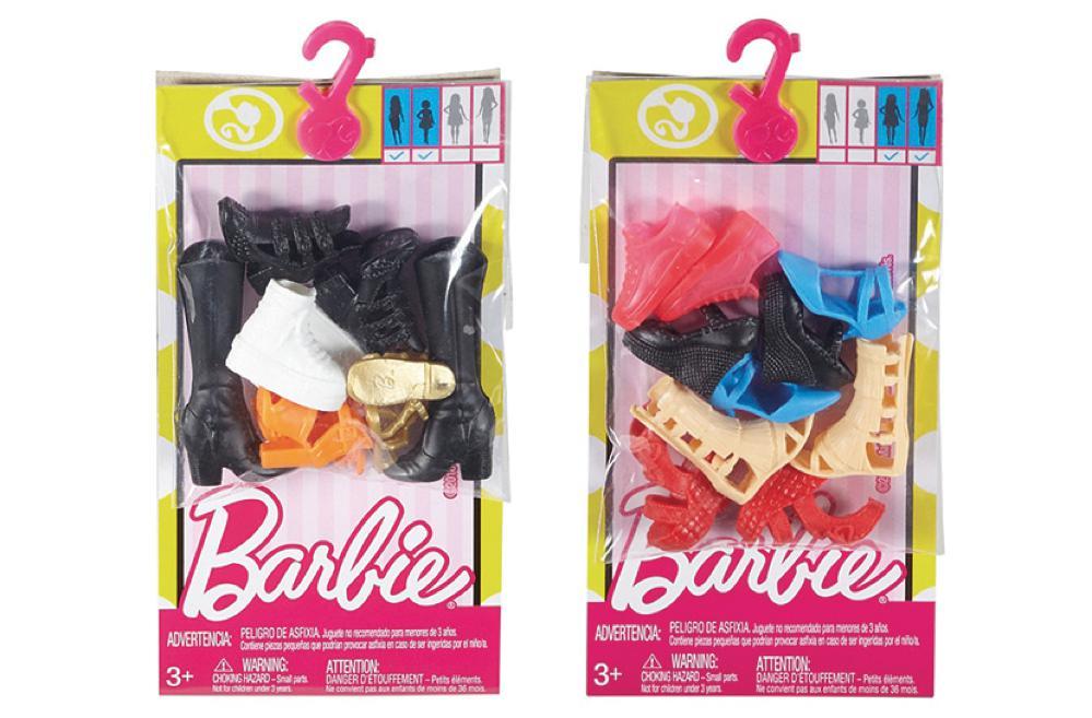 Barbie - Souliers à la mode assortis