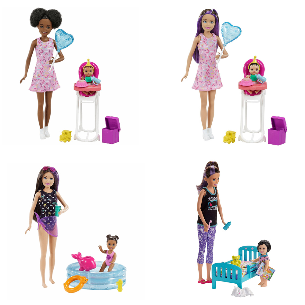Barbie - Skipper Babysitters Inc. - Ensemble de jeu assortis