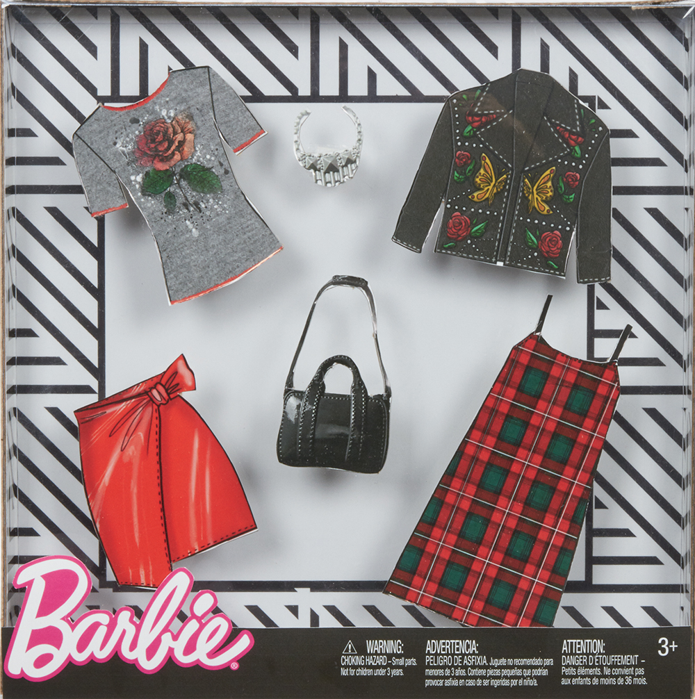 Barbie - Ensemble de vêtements à la mode assortis