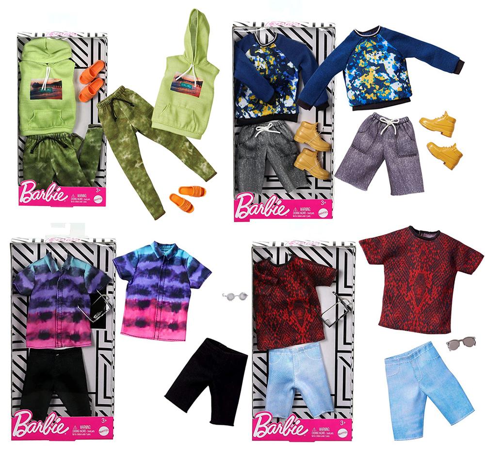Barbie - Vêtements pour Ken assortis