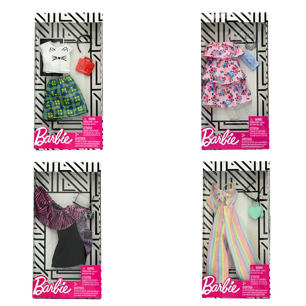 Barbie - Ensemble vêtements assortis