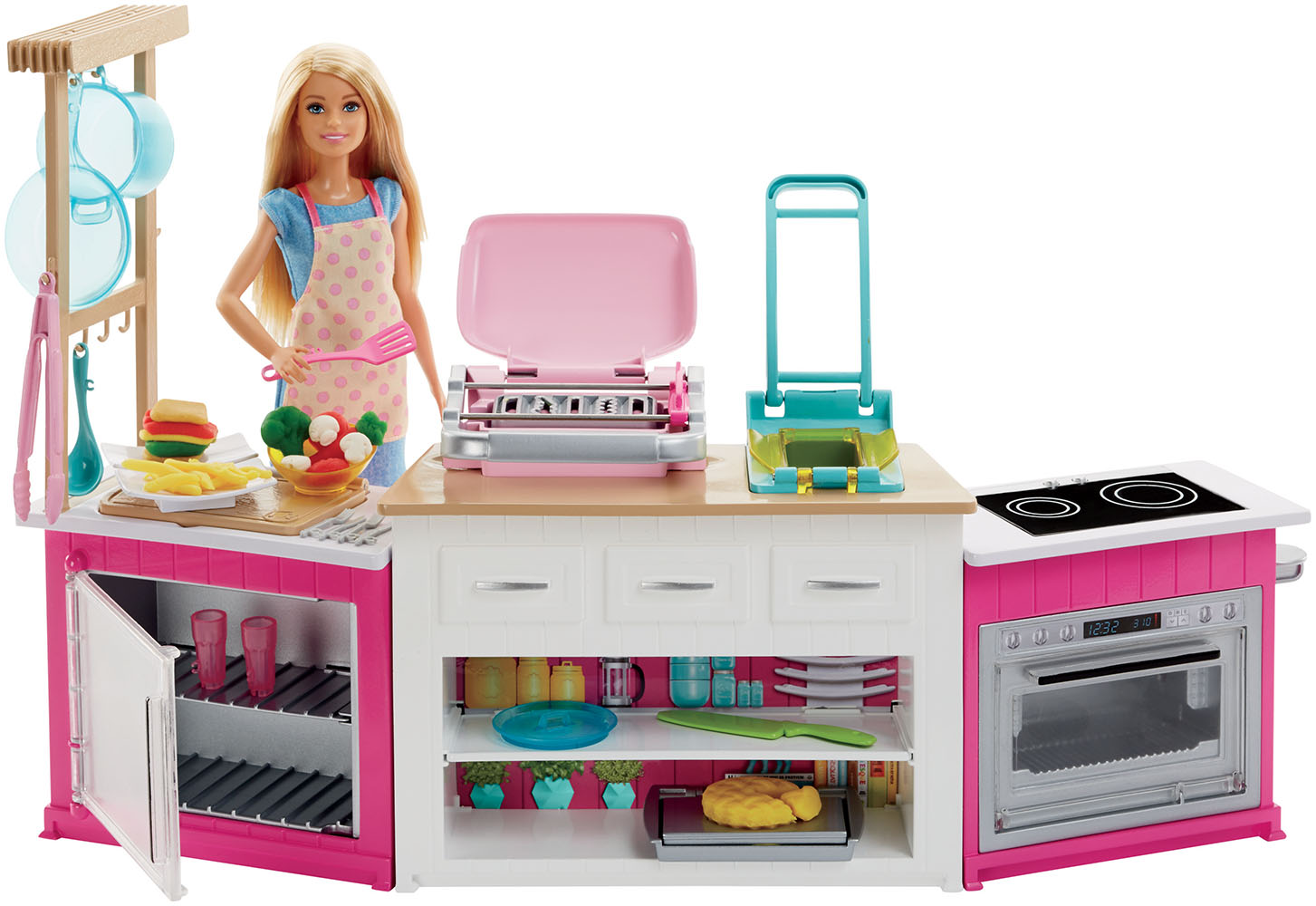 Barbie - Cuisine ultime à modeler avec Barbie incluse