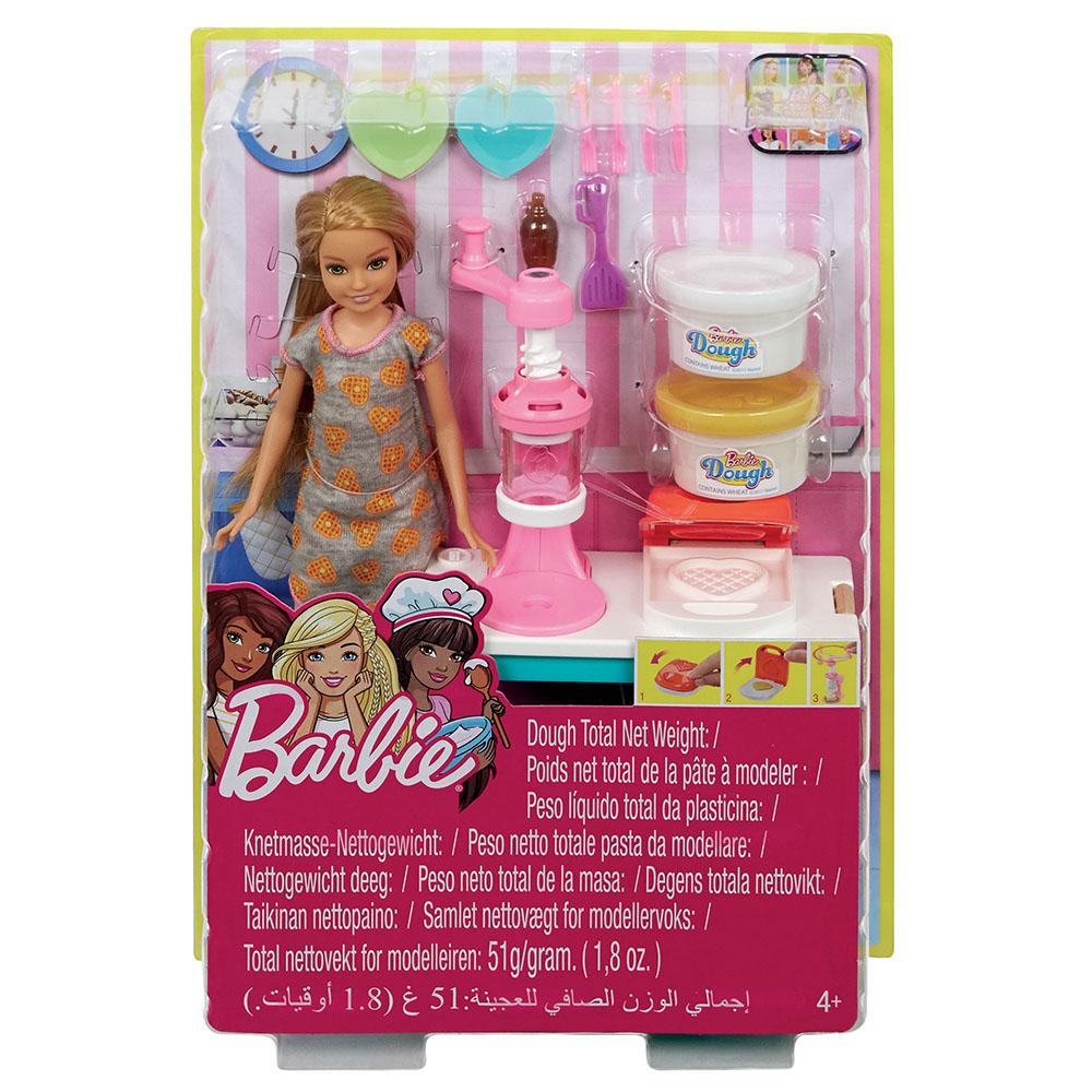 Barbie - Ensemble cuisine dejeuner