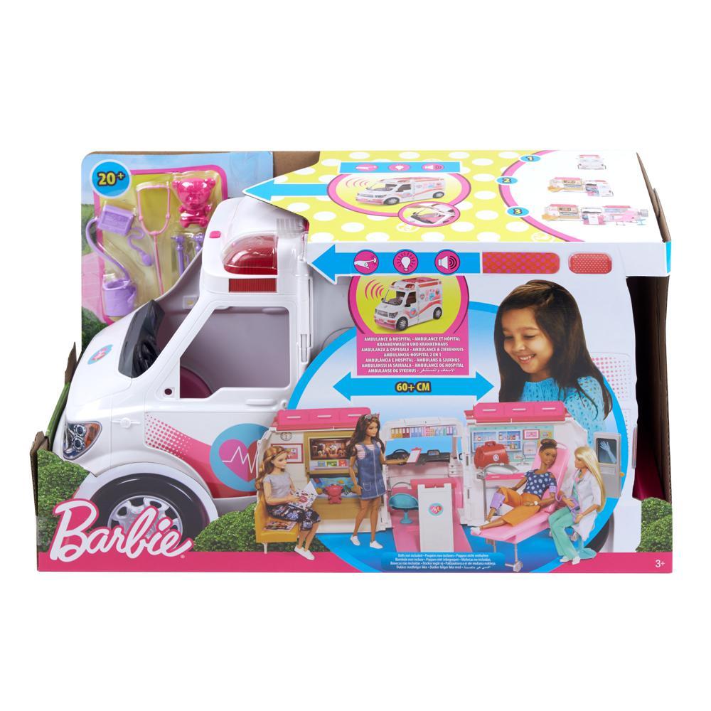 Barbie - Ambulance de secours et Hôpital