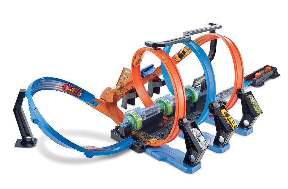 Hot Wheels - Corkscrew Crash