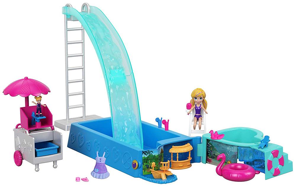 Polly Pocket - La piscine toboggan