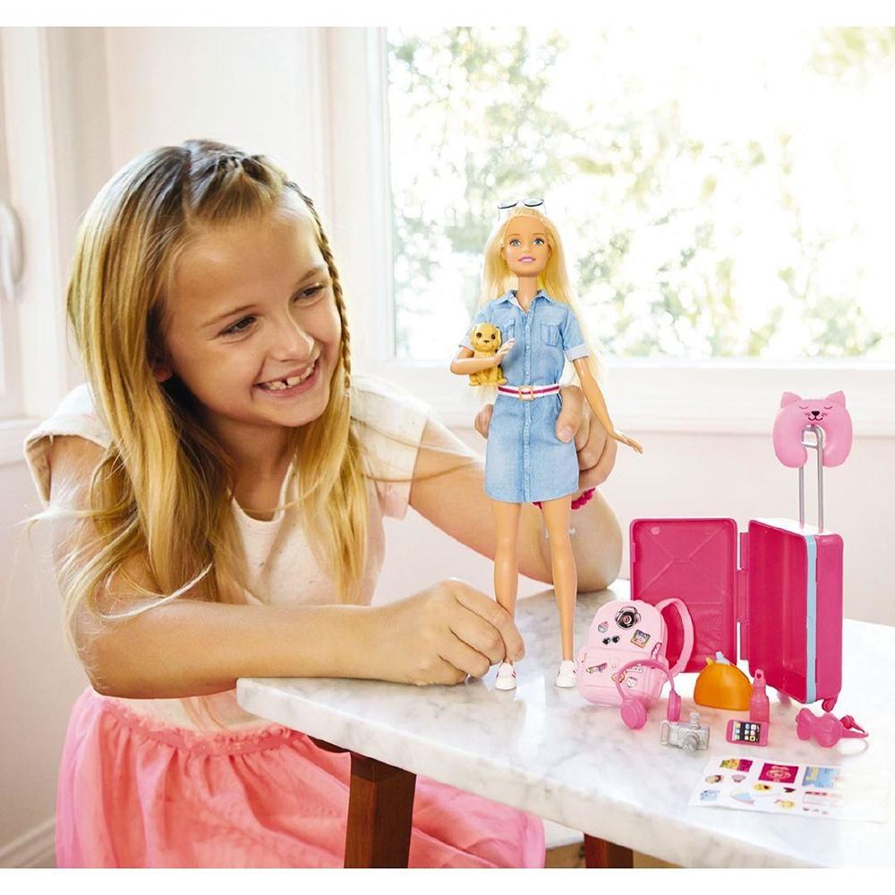Barbie - Poupée voyageuse