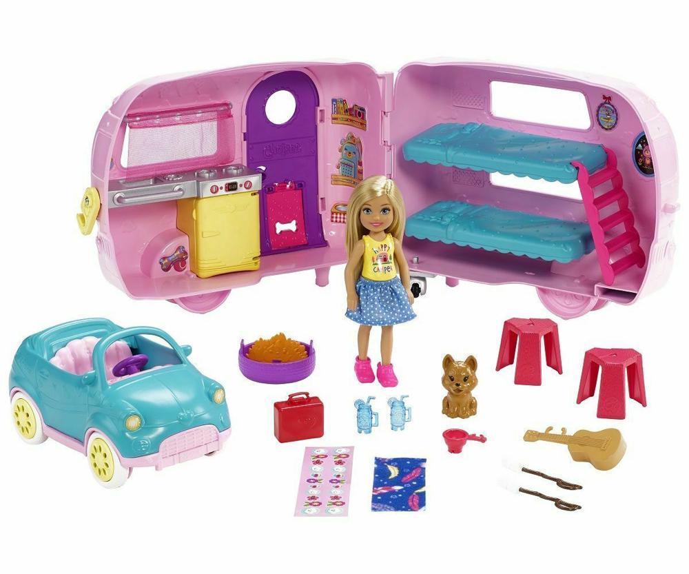 Barbie Club Chelsea - Campeur